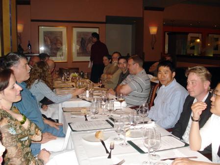 EigenU 2009 Dinner at Torchy\'s